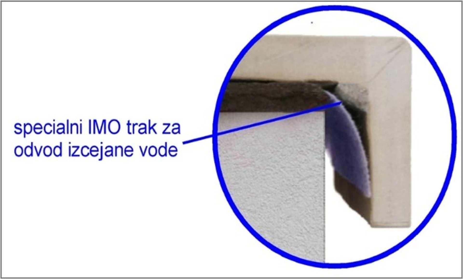 Balkonska obroba z odkapnim trakom 1