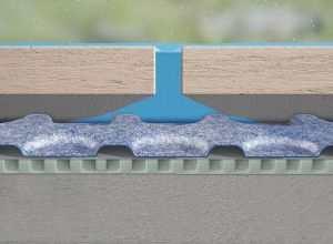 Prodeso membrana popolnoma tesni vodo