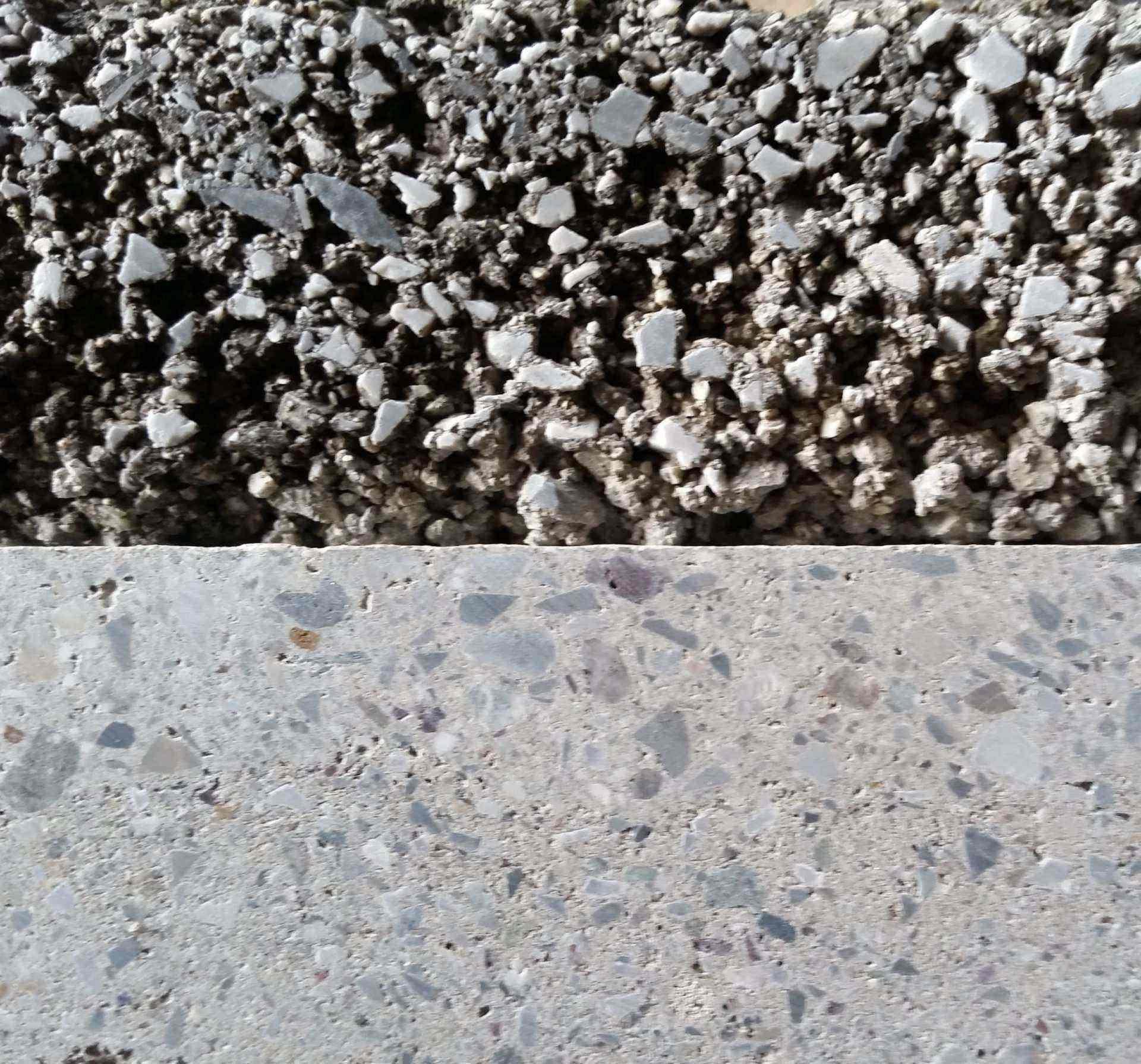 Razlika v prerezu tlaka in betona 1