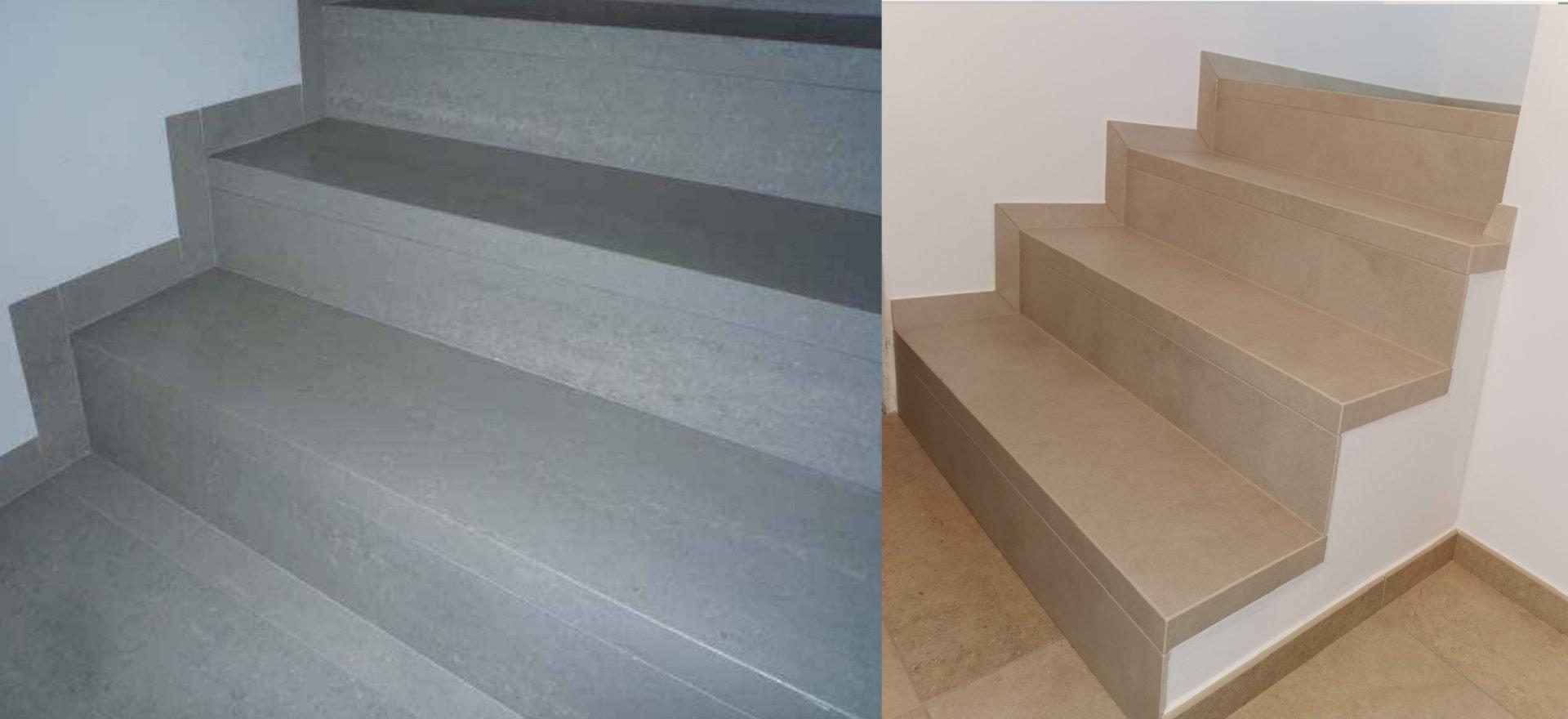 Stopnice iz balkonskih obrob
