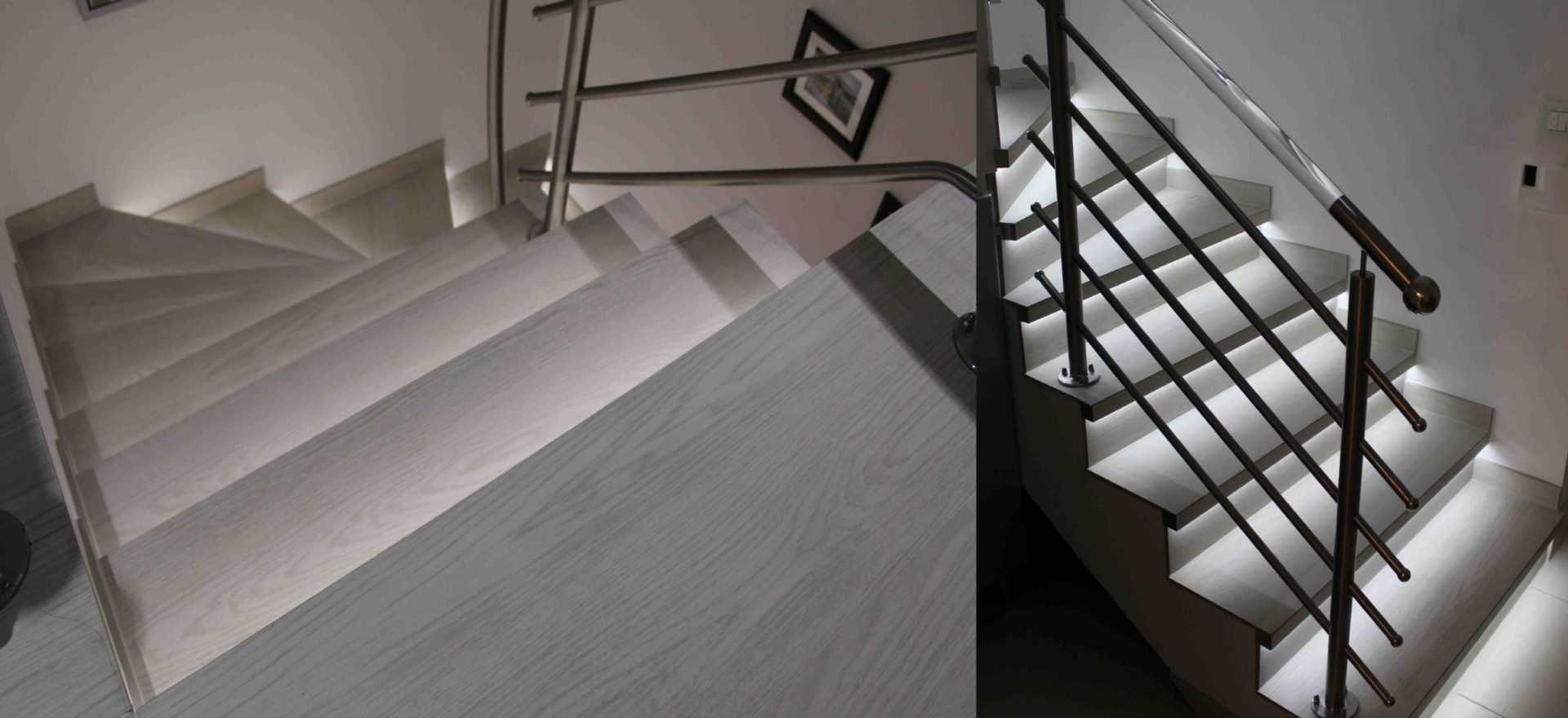 Stopnice z LED osvetlitvijo