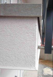 balkonska obroba pravilno odmaknjena da deluje kot odkap 1
