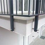 detajl balkonske obrobe pravilno