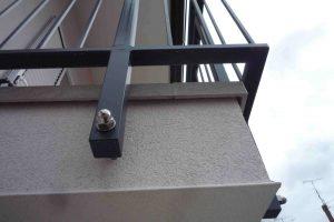 balkon z balkonsko obrobo 5cm od spodaj
