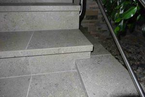 detajl stopnice in ograje