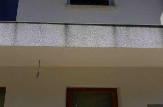 rob balkona brez odkapa
